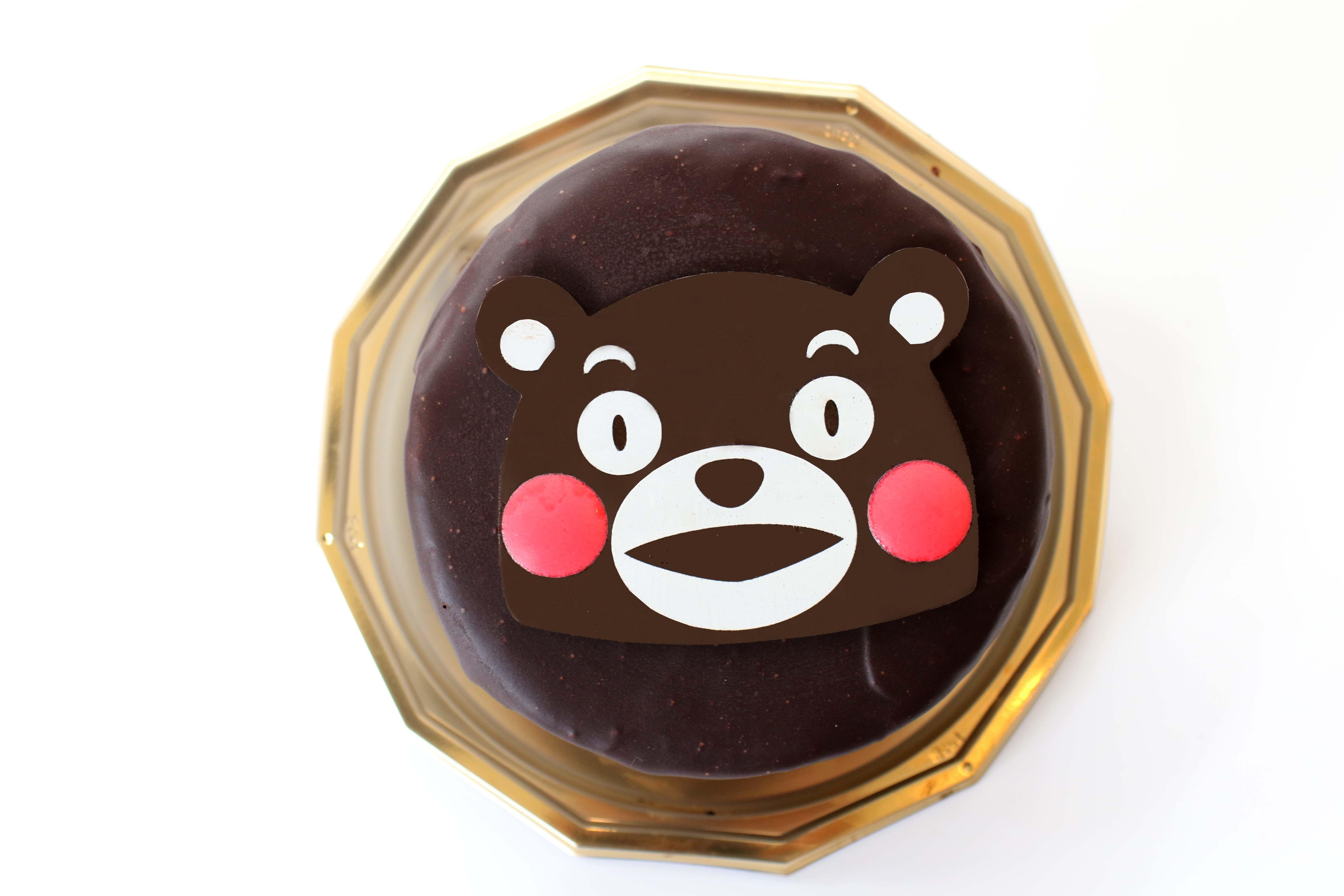 チョコフェイスケーキ(くまモンバージョン)©2010熊本県くまモン#K22462