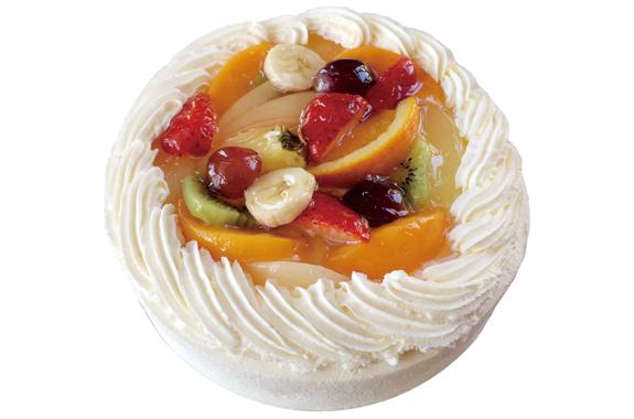 生クリーム フルーツ デコレーションケーキ